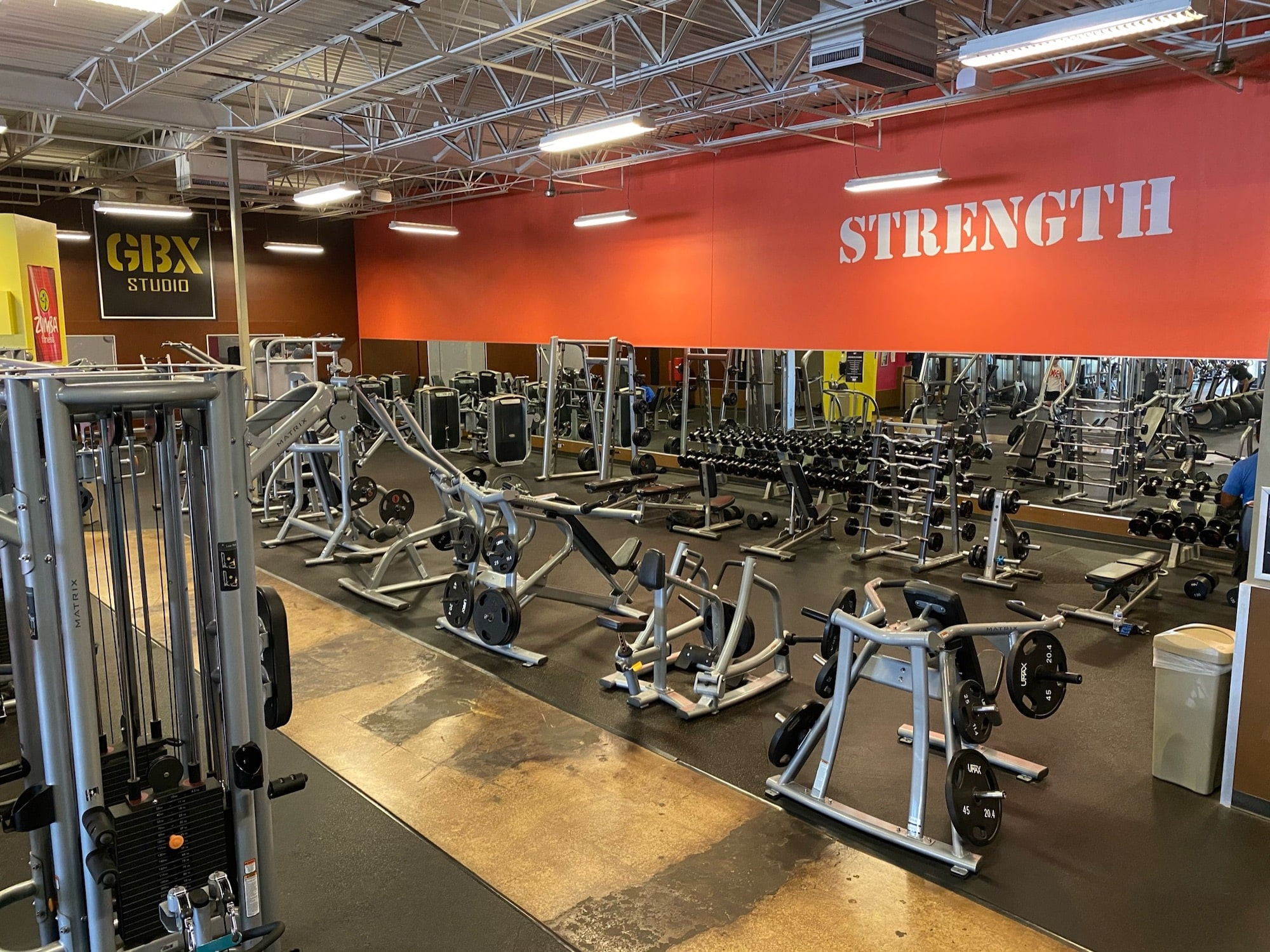 Always a weight never a wait at GYMBOX Fitness in Texarkana